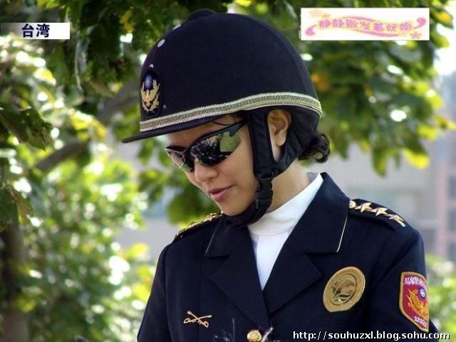 亚洲各地英姿飒爽的女警官