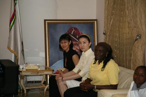 尼日利亚与中国的友谊因为我们的努力而更加紧密