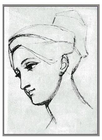 鼻子画法教程铅笔画