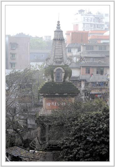 七星岗菩提金刚塔,通远门