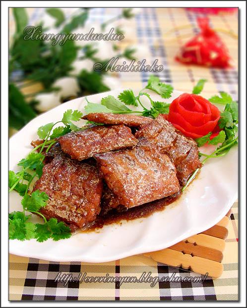 之一,也是我最喜欢的一道菜,鱼肉鲜嫩、鱼刺较少、味道鲜美、色