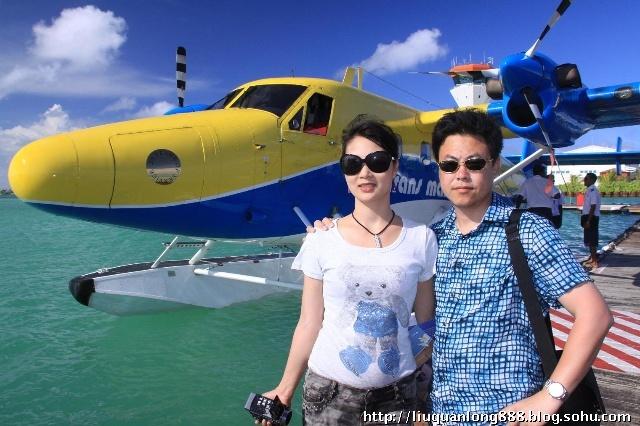 马尔代夫水上飞机 潜艇