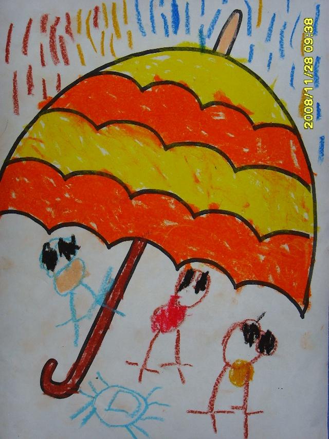 幼儿小班涂色简笔画图