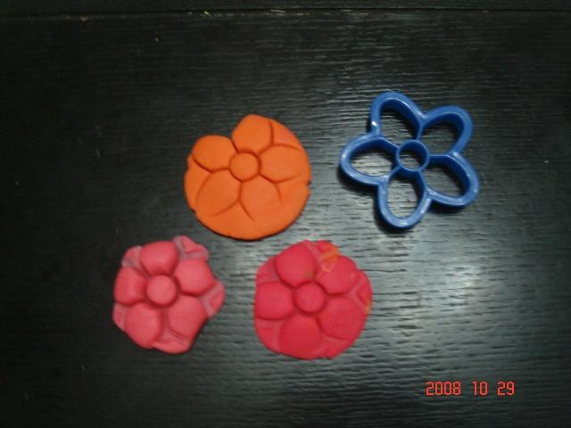 彩泥饺子步骤图