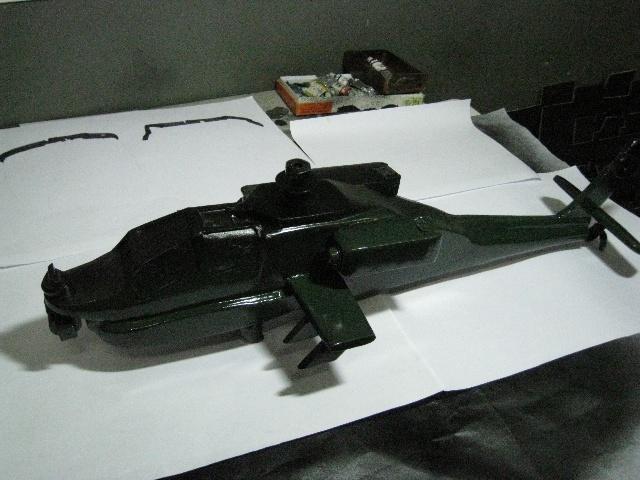 阿帕奇武装飞机模型制作过程-^^株式·会社|-搜狐