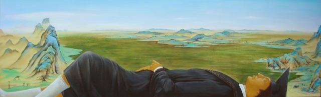 《大风景no17》(200x60)2008年8月