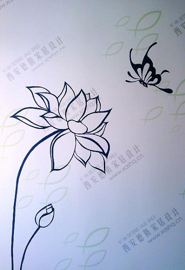 西安手绘墙---师大校区