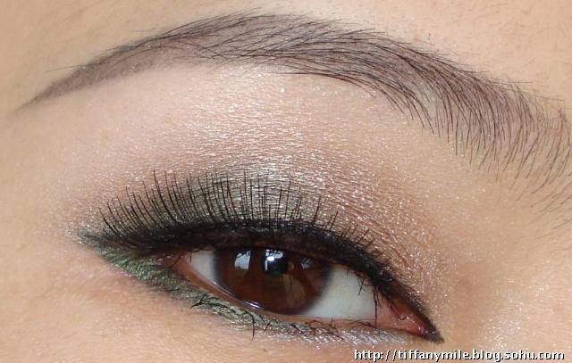 狐狸眼型眼线画法 不同眼形的眼线画法 画圆眼的眼线的画法 各种眼形
