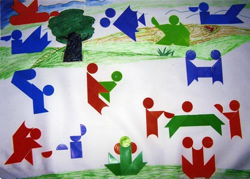 儿童画 500_359图片