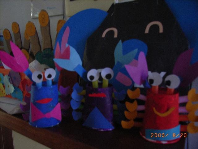 手工制作纸杯动物 螃蟹
