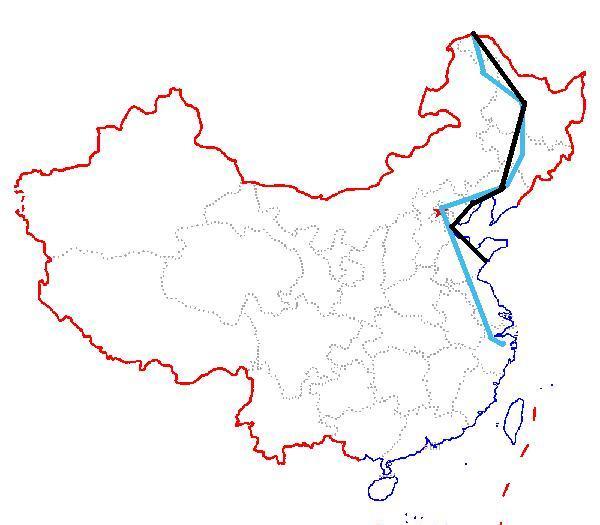 浮山校区手绘地图