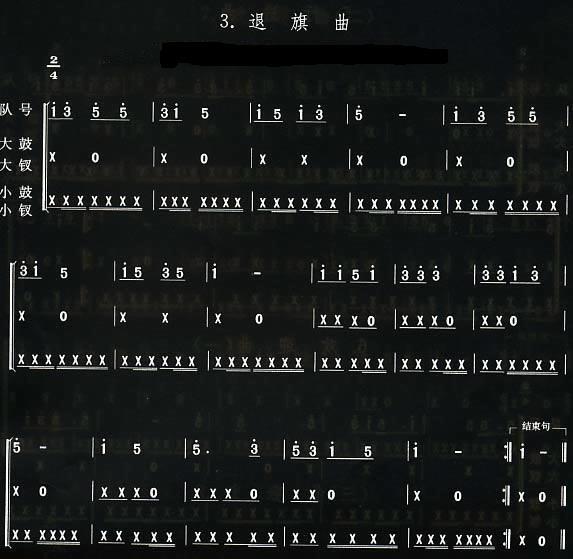 少先队鼓号队资料集成(二)