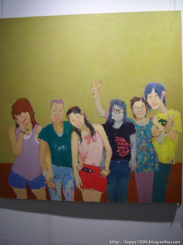 去的日子 学校毕业油画展