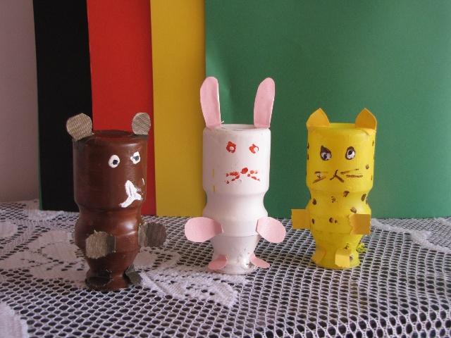 废旧材料作环保玩具