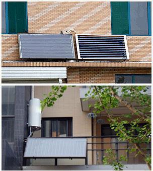 阳台热水器包装效果图
