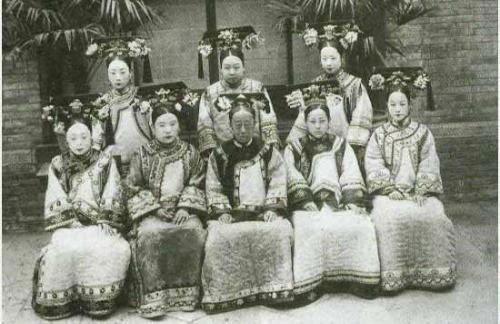 后宫众嫔妃图高清图片