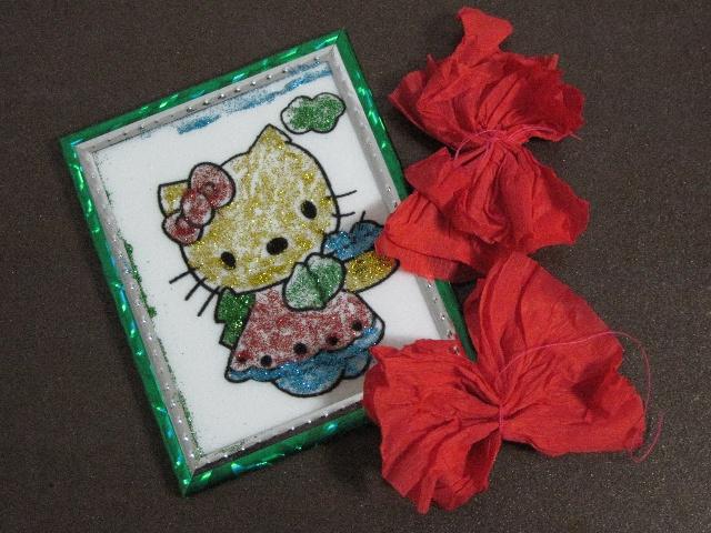 小红花剪纸 教程 有上幼儿园的小朋友放学留园的吗?
