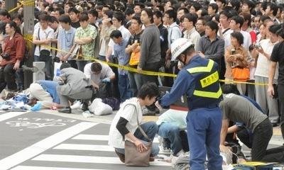 在日本,校园惨剧发生之后
