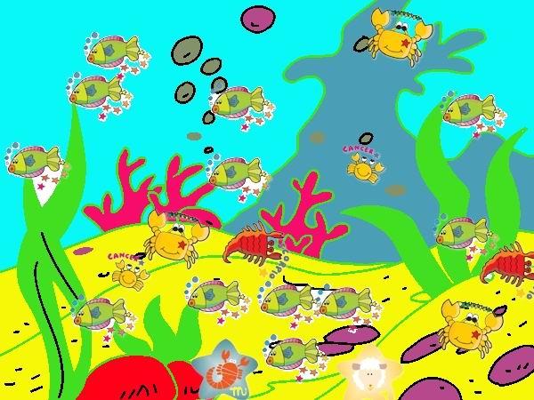 杨茉《海底世界》