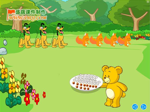 小学数学一年级课件展示:分一分-课件制作-搜狐博客